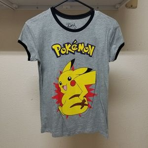 Pokemon Womens Pikachu Tee